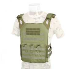 DLP Tactical WRAITH JPC MOLLE plate carrier vest in OD Green
