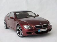 1:18 Kyosho BMW M6 E63 Edition Distributeur Red / Carbon Fiber #80430398134