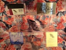 """Just The Right Shoe Raine Originals -"""" Cloaked In Mystery """" 20001 New"""