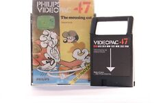VINTAGE PHILIPS G7000 CONSOLE COMPUTER VIDEOPAC 47THE MOUSING CAT GAME