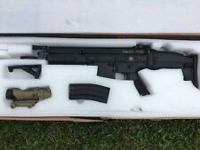 VFC FN Herstal Full Metal SCAR-L Light Airsoft AEG Rifle CQC Black
