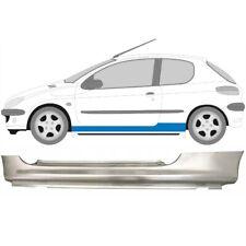 PEUGEOT 206 1998- 3 DOOR FULL SILL REPAIR PANEL ROCKER PANEL / LEFT LH