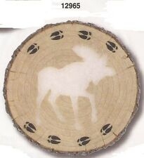 New listing Moose Glow Stepping Stone Hanging Plaque [#12965] by Spoontiques