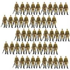 "Hot Toy 50Pcs Russian Soldiers Troopers INDIANA JONES 3.75"" Figures Boys Gifts"