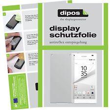 6x Sony Xperia Z5 Compact Lámina protectora de pantalla mate Dipos