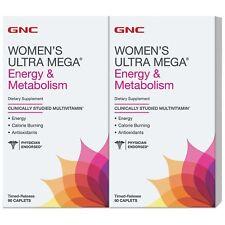 GNC Women's Ultra Mega Energy & Metabolism Multivitamin 180 ct