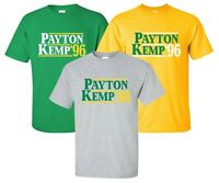"""Payton Kemp '96"" T-Shirt election seattle super sonics gary glove shawn gift"