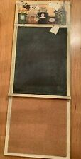 Chalkboard Cork Board Hand painted Solid Wood For Wall Art by Karla Bove Canning