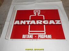 PLAQUE PUBLICITAIRE ANTARGAZ BUTANE PROPANE N° 2