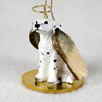 Dalmatian Dog Figurine Angel Statue Ornament