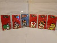 Official SUPER MARIO Nintendo Game Rubber Key ring Chain_CHOOSE CHARACTER