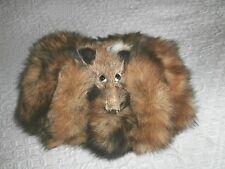 Ausgefallene Muff(Handwärmer) mit Fuchskopf