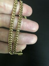 "28"" 18K Miami Cuban Link Chain (5mm)"