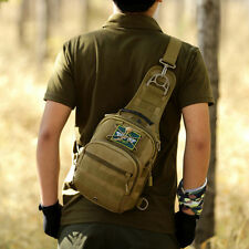 Men Shoulder Bag Messenger Bags Hamburg Chest Pack Military Tactical Bag