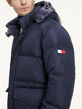 Tommy Hilfiger Men's Large Padded Hooded Bomber Jacket - BNWT +