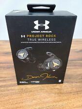 JBL PROJECT ROCK Under Armour True Wireless Flash Earbuds Headset Waterproof IPX