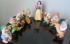 Disney Snow White And The Seven Dwarfs Ceramic Porcelain Figurines Sri Lanka