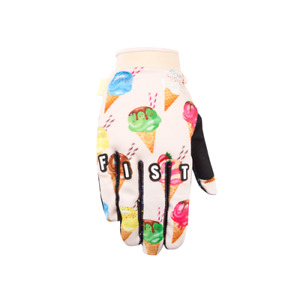 FIST HANDWEAR GLOVES YOUTH KIDS BMX MTB DOWNHILL DH BICYCLE MX MOTOCROSS CONES