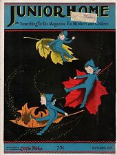 1927 Junior Home September Fairies in the Fall Cover