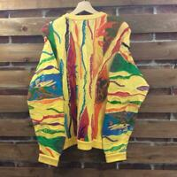 COOGI 3D knit Sweater Notorious Biggie Size SS Multi Color Good Condition rare