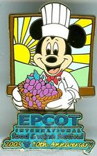 WDW Epcot Food & Wine Festival 2005: Mickey/Grapes Pin