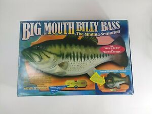 Vintage 1998 Big Mouth Billy Bass Motion Activated Singing Fish