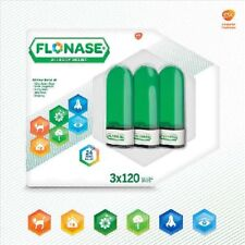 Flonase Allergy Relief, 3 Bottles, TOTAL 360 Sprays
