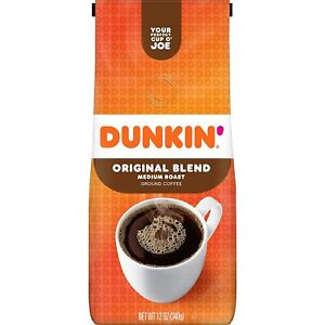 Dunkin Original Blend Ground Coffee 12 Oz