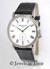 Patek Philippe Calatrava 5119 18K White Gold Manual Mens Watch Box/Papers 5119G