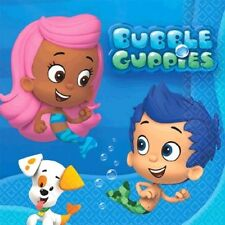 Bubble Guppies Napkins 16 ct Birthday Party Beverage Size