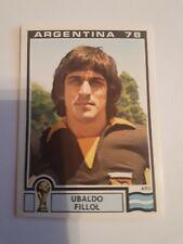 Panini World Cup Story 93 Argentina 1978 Ubaldo Fillol