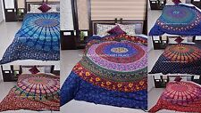Mandala Duvet Cover Queen Indian Quilt Cover Cotton Throw Doona Blanket Cover