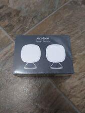 Ecobee SmartSensor Room Temperature Sensor White Pack of 2 Eb-Rshm2Pk-01 new!