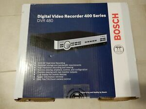 BOSCH DVR-480-08A050 SECURITY CAMERA DIGITAL VIDEO RECORDER H.264 Real & Mobile