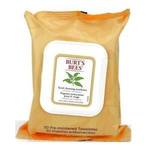 Burt's Bees Feuchttücher zur Gesichtsreinigung mit Weißem Tee Extrakt 30 Stk.