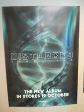 """DISTURBED EVOLUTION RARE GLOSSY PROMO POSTER 20""""x 27"""" APPROX METAL REPRISE"""