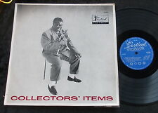 LOUIS ARMSTRONG Satchmo Collectors' items LP early flipback MONO