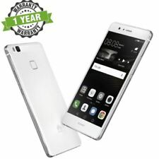 Téléphones mobiles jaunes Huawei P9 lite avec android