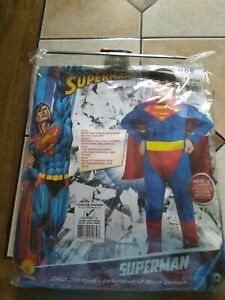 Superman Toddler 2-4 Child's Costume by Rubie's NEW - Free Shipping