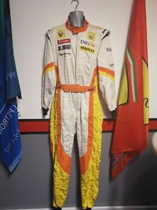 F1 Race Suit - Genuine Renault Race Suit - Motorsport Memorabilia