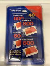 Polaroid 600 Instant Film 4 Pack 40 Photos Total Factory Sealed NIP New Vintage