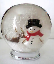 Bath & Body Works Snowman Snow globe wallflower diffuser plug unit New no tag 1