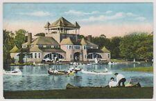 USA postcard - Pavilion, Belle Isle, Detroit, Mich.