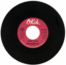 """BILLY BUTLER Right Track / (Instrumental) NEW NORTHERN SOUL 45 (OUTTA SIGHT 7"""""""