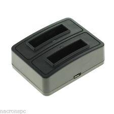 Station Duo Chargeur Batterie NP-BN1 Sony Cyber-shot DSC-W310 DSC-W320 Micro USB