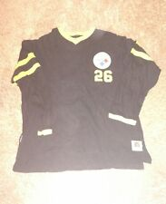 Vintage Throwback Mirqage Wool Type ROD WOODSON Pittsburgh Steelers Jersey XL