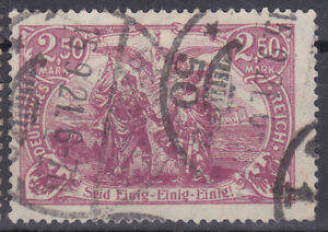 Germany Deutsches Reich 1920 Mi. Nr. 115e High Value Definitive USED Gepr. INFLA