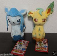 Pokemon Glaceon Leafeon My Pokemon Plush Doll Banpresto