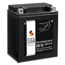 SIGA BIKE GEL Motorrad Batterie YB14L-A2 - 14Ah 12V 270A/EN GEL12-14L-A2, 51411