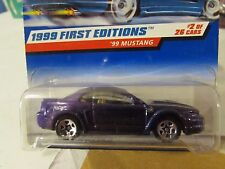Hot Wheels '99 Mustang 1999 First Editions Purple 5sp